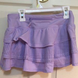 Lululemon size 2 run / yoga skirt